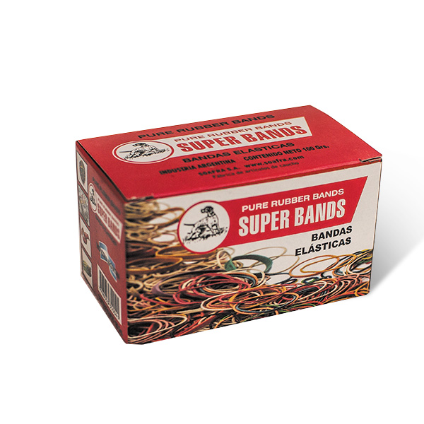 Caja Superbands 100gr