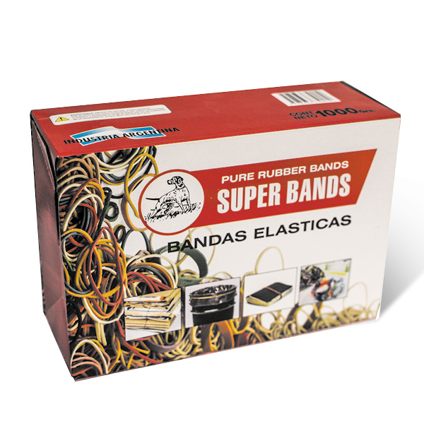Caja Superbands 1000gr