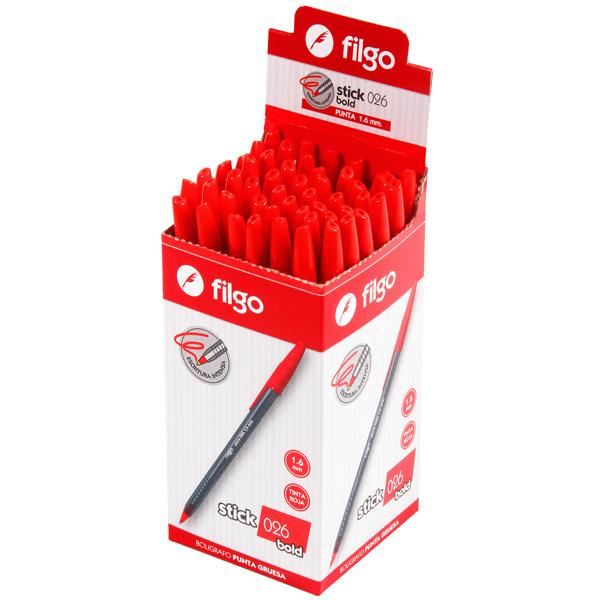 Bolígrafo Filgo Stick 026 Bold