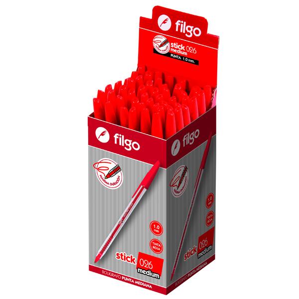 Boligrafo Filgo Stick 026 Medium x 50
