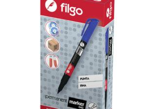 Marcadores permanentes punta fina 1.0 mm Filgo