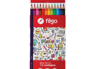 lapices color x 12 Filgo