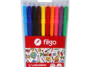 marcadores escolares x 10 Filgo