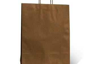 Bolsas KRAFT - Bolsas papel madera 300x110x410